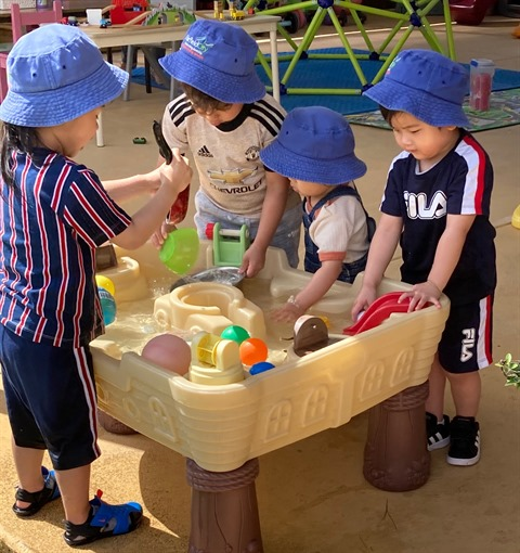 Image of children in family day care
