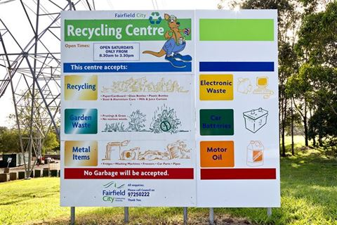 Recycling Drop Off Centre